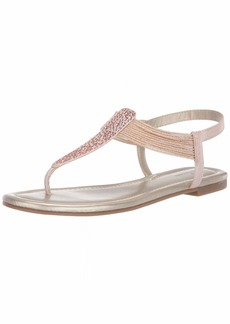 Bandolino Women's KAYTE Flat Sandal   Medium US