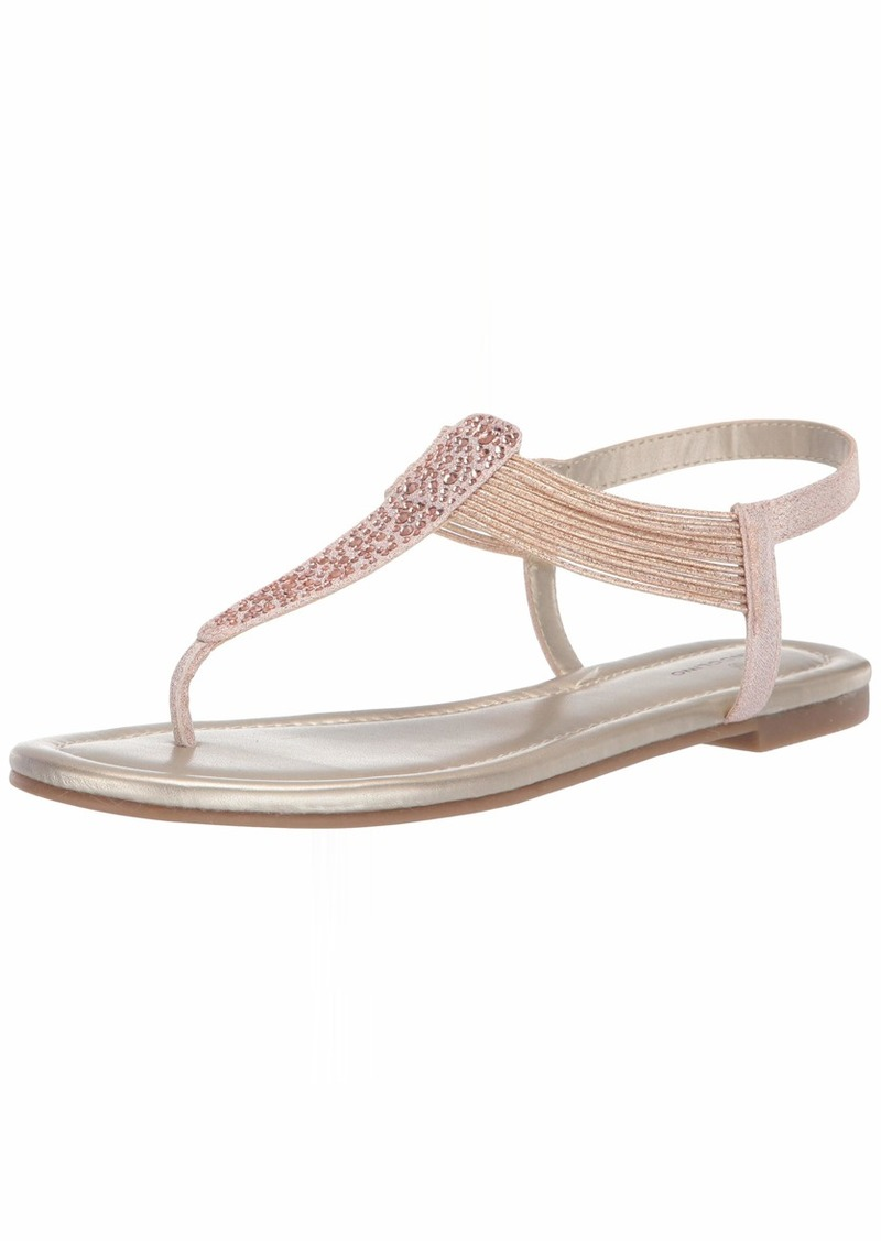 Bandolino Women's KAYTE Flat Sandal   Medium US