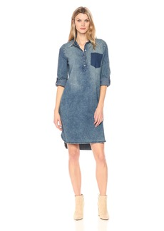 Bandolino Women's Keira Belted Dress With Shadow Pocket Santa Clara/Shadow Pocket