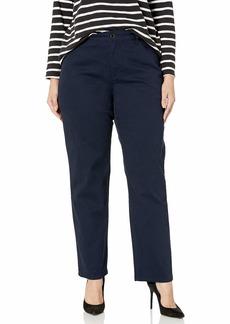 Bandolino Women's Mandie Signature Fit High Rise Straight Leg Jean Majestic Blue-Updated  Regular