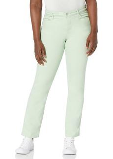 Bandolino Women's Mandie Signature Fit High Rise Straight Jean   Regular
