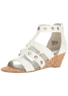 Bandolino Women's Olegga Wedge Sandal   M US