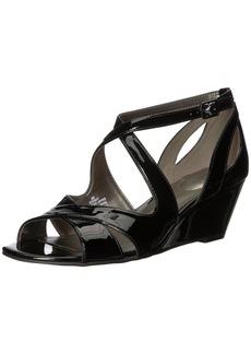 Bandolino Women's Omit Wedge Sandal  7 M US