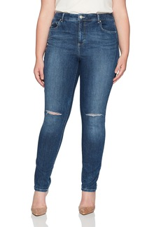 Bandolino Women's Plus Size Mandie Slim 5 Pocket Jean