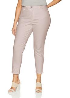 Bandolino Women's Plus Size Mandie Slim Crop Jean