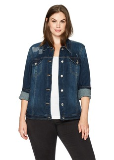Bandolino Women's Plus Size Sarah Denim Jacket