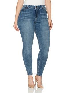 Bandolino Women's Plus Size Smooth Operator Seamless Shaper Skinny Jean