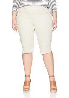 Bandolino Women's Plus Size Thea Pull on Skimmer Legging