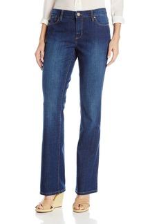 Bandolino Women's Robbie Low Rise Microboot Denim Jeans