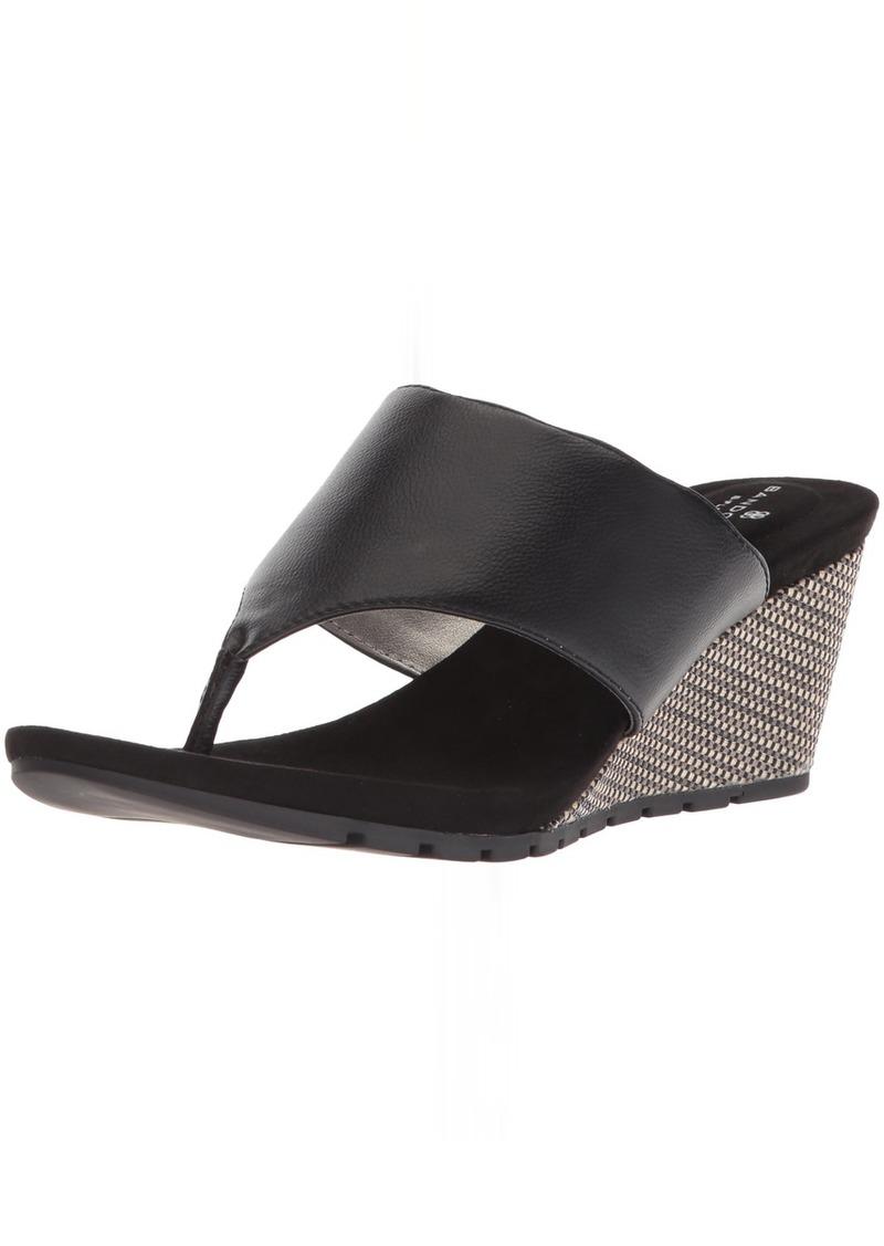 Bandolino Women's Sarita Wedge Sandal   M US