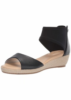 Bandolino Women's Sidney Wedge Sandal   Medium US