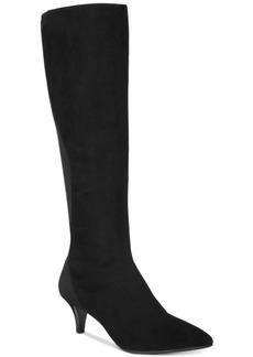 Bandolino Wright Pointed-Toe Kitten Heel Dress Boots Women's Shoes