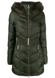 Barbour hooded padded parka