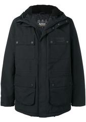 Barbour hooded coat