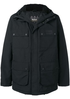 Barbour hooded coat
