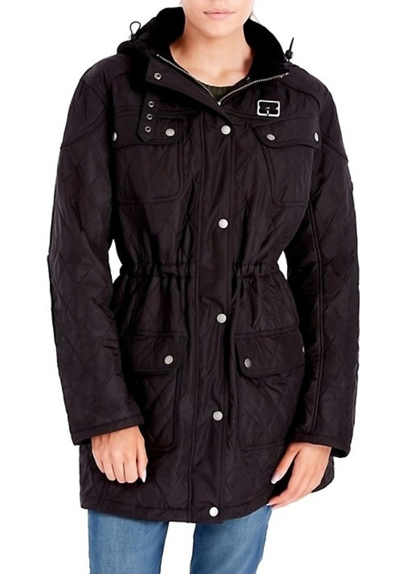 Barbour Arrow Quilted Hooded Jacket