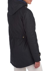 Barbour Aberdeen Waxed Hooded Raincoat