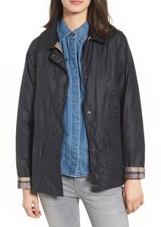 Barbour Acorn Water Resistant Waxed Cotton Jacket