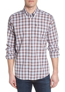 Barbour Atholl Trim Fit Plaid Sport Shirt