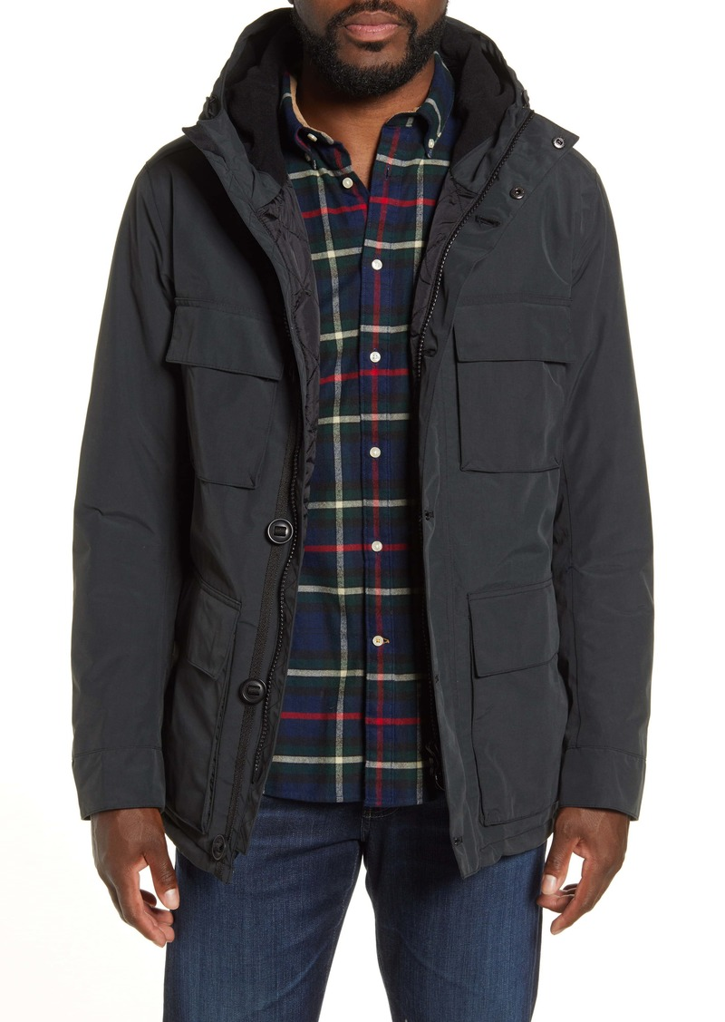 Barbour Aurore Waterproof Hooded Jacket