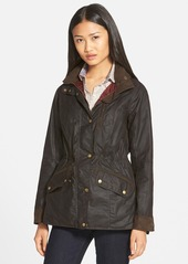 Barbour 'Badminton' Waterproof Waxed Cotton Jacket
