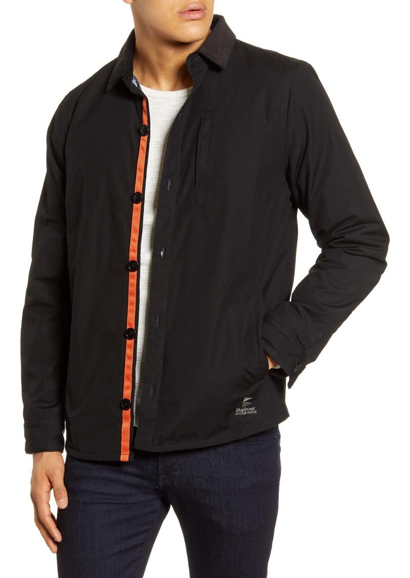 Barbour Baltic Cotton Canvas Overshirt