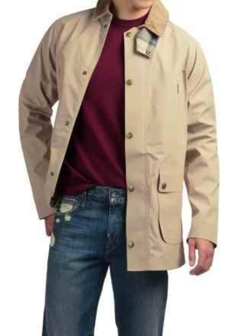 barbour mens thompson waterproof trench coat