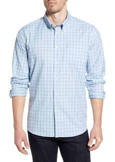 Barbour Batley Check Button-Up Performance Shirt