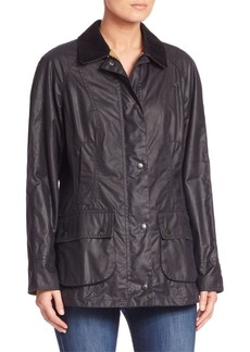 Barbour Beadnell Waxed Cotton Jacket