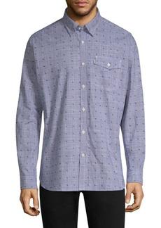 Barbour Beluga Cotton Button-Down Shirt