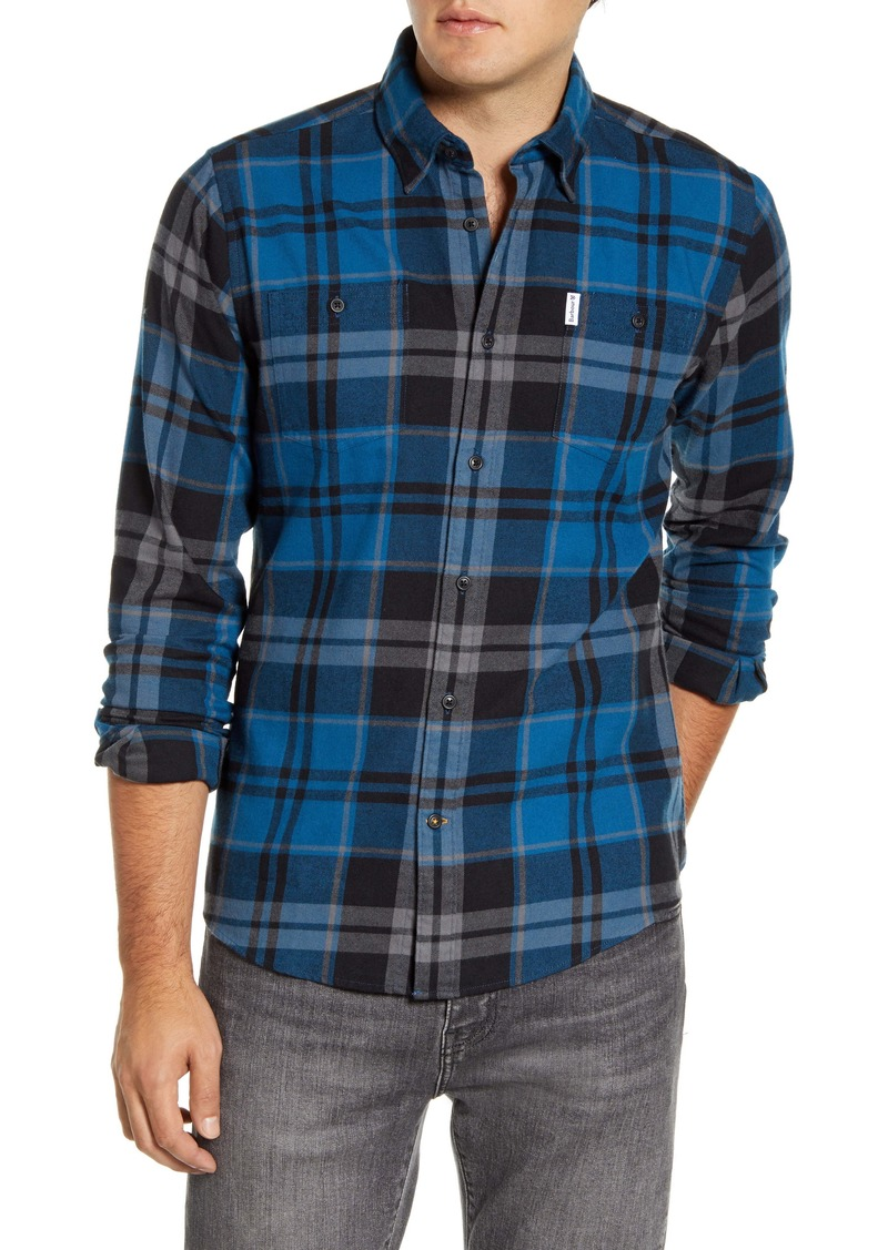 Barbour Bidston Tailored Fit Plaid Button-Up Shirt