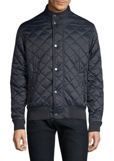 Barbour Black Tartan Edderton Quilt Jacket