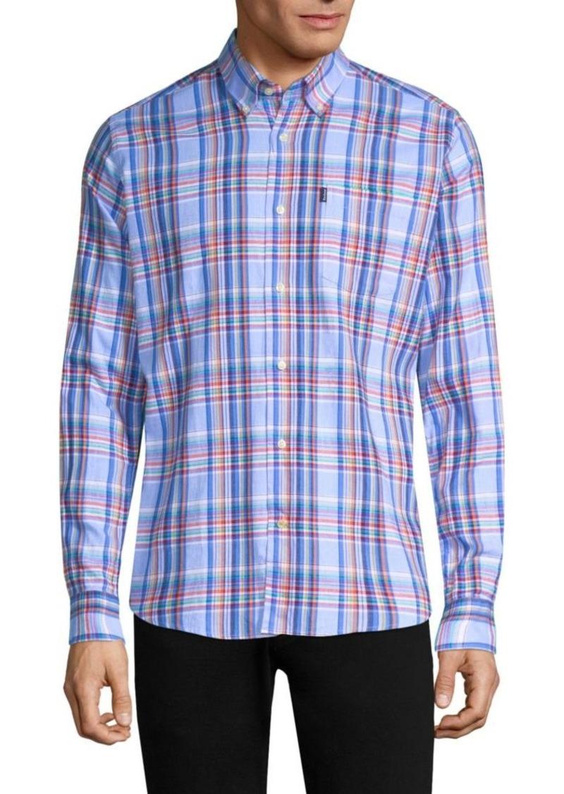 Barbour Bram Cotton Button-Down Shirt
