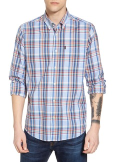 Barbour Bram Trim Fit Plaid Sport Shirt