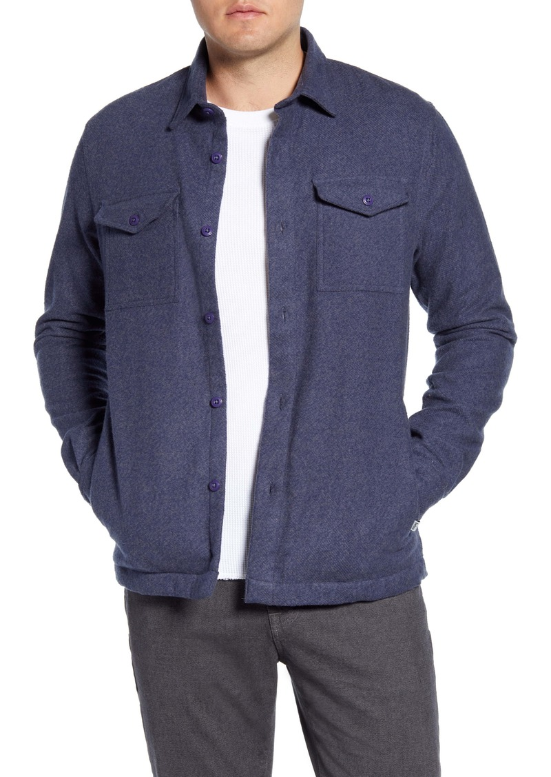 Barbour Brushed Twill Button-Up Overshirt