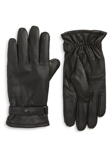 Barbour Burnished Leather Gloves