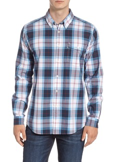 Barbour Cabin Tailored Fit Plaid Sport Shirt