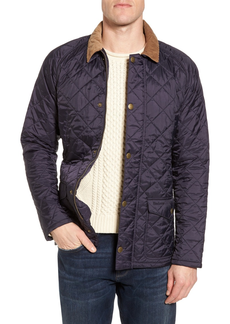 Barbour Barbour Canterdale Slim Fit Water Resistant Diamond