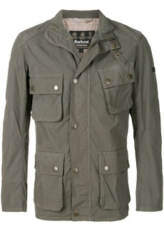 Barbour cargo pocket military jacket - Green