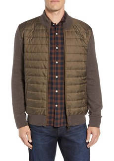 Barbour Carn Baffle Front Knit Jacket