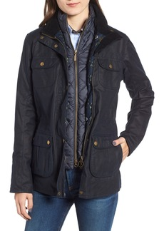 Barbour Chaffinch Water Resistant Waxed Cotton Jacket