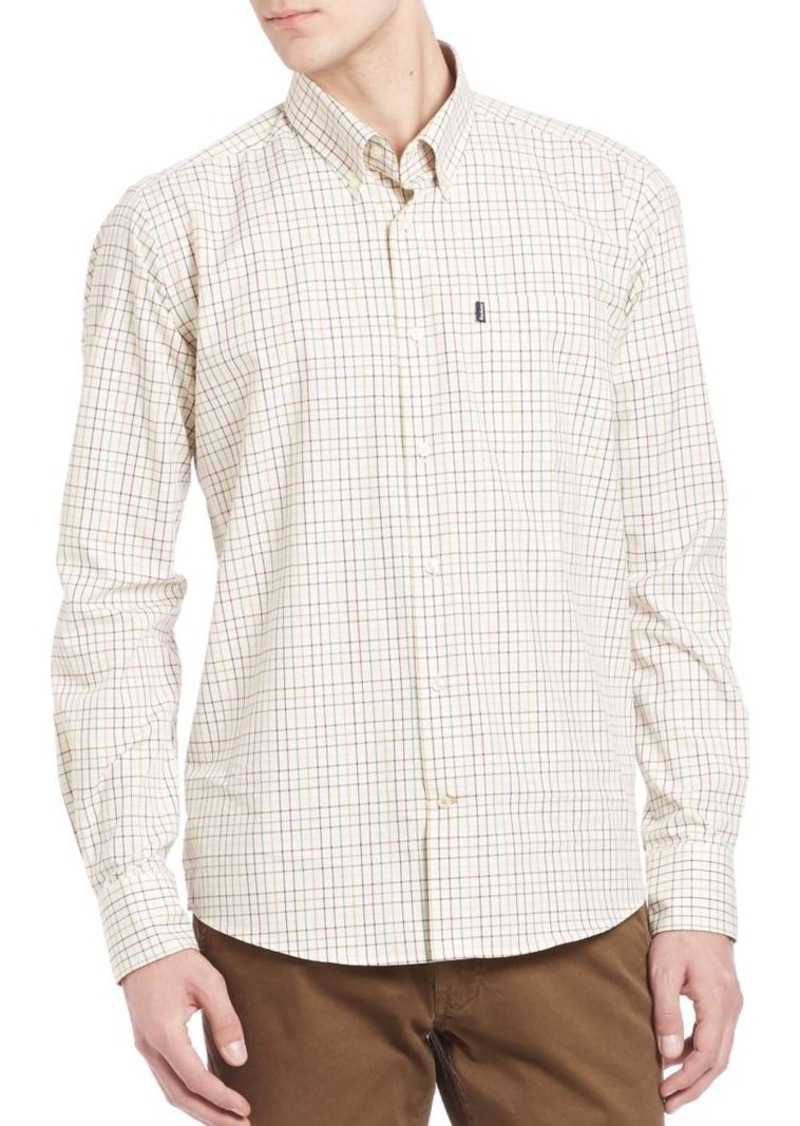 Barbour Charles Checkered Long Sleeve Shirt