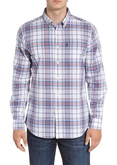 Barbour Christopher Tailored Fit Plaid Sport Shirt