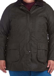 Barbour Classic Beadnell Hooded Raincoat (Plus Size)