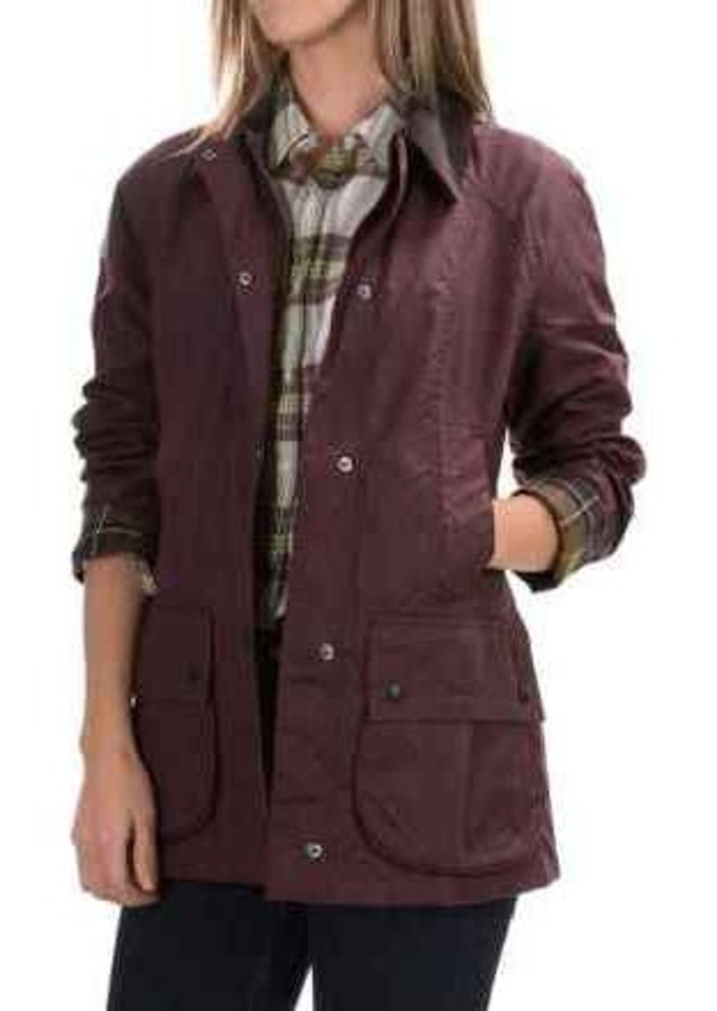 Barbour Classic Beadnell Jacket - Sylkoil Waxed Cotton (For Women)