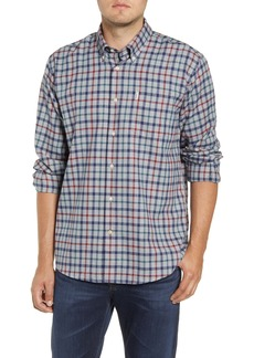 Barbour Coll Tailored Fit Check Thermo-Tech Button-Down Shirt