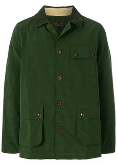 Barbour Conniston button through overshirt - Green