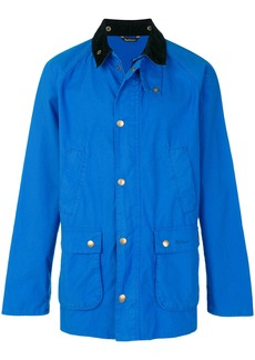 Barbour contrast collar Bedale jacket - Blue