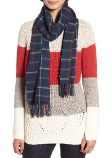 Barbour Country Tattersall Wool Scarf