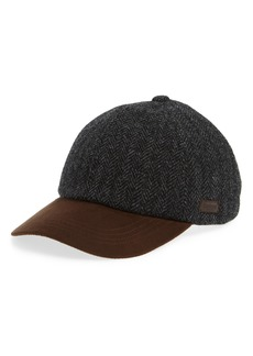 Barbour Dotterel Wool & Moleskin Cap